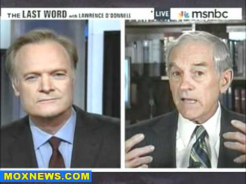 Ron Paul Schools MSNBC - Paul, the Father of the Tea Party