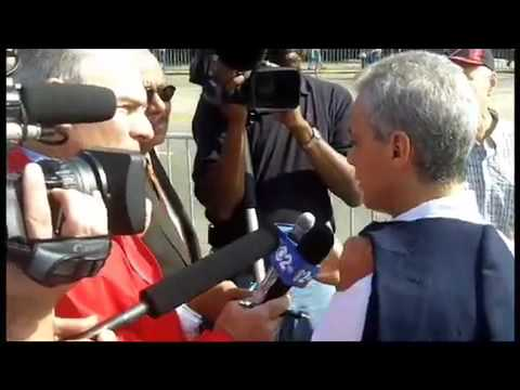 Chicago Reporters Work as Rahm's Press Thugs; Threaten Reporter Asking Tough Questions
