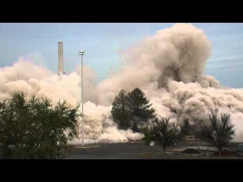 Building Implosion Hanford, WA