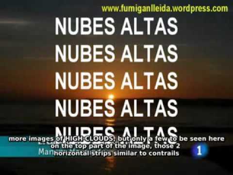 chemtrail disinfo (National Public Tv News Spain)