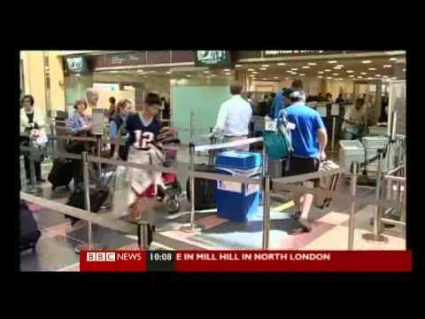 Airport Security Scanners, U.K Tells America NO
