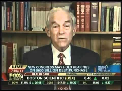 Ron Paul on QE2
