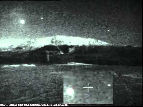 *ALERT* Huge UFOs Over The Hekla Volcano In Iceland! *ALERT*