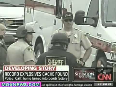 Huge Cache of Explosives Found In San Diego
