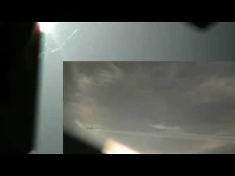 GIANT UFO UPDATE DECEMEBER 2010 AND MORE EMV'S WARPING IN
