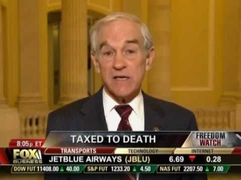 Ron Paul Announces Chairmanship on Freedom Watch 12/08/10