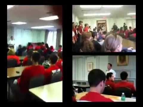 """Students Protest Against IDF Soldiers """"Visiting"""" the Universitity of Michigan Campus"""