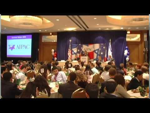 AIPAC : Brainwashing America's youth