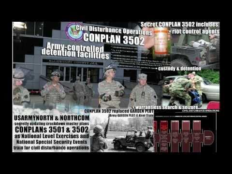 Martial Law in America - Conplan 3502 Exposed - NORTHCOM FEMA RNC G20 Civil Disturbance