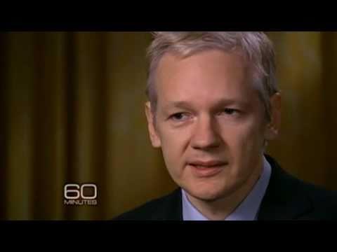 60 Minutes Interviews Julian Assange  - watch stream video