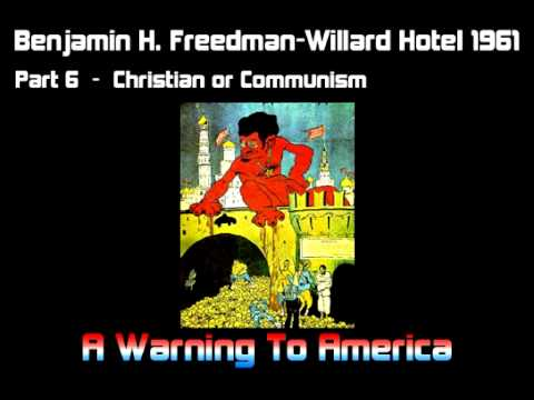 Enemy Within A Warning to America - Benjamin H Freedman (Full Speech) Jewish Defector Warns America