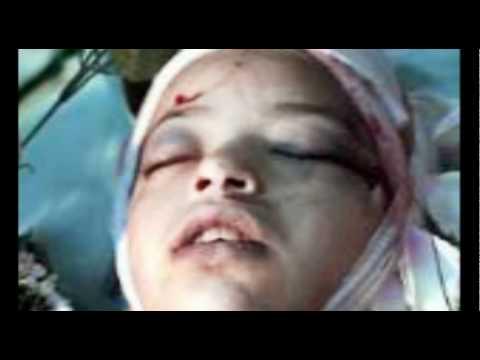 His Rachel Corrie Moment. (2 mins)