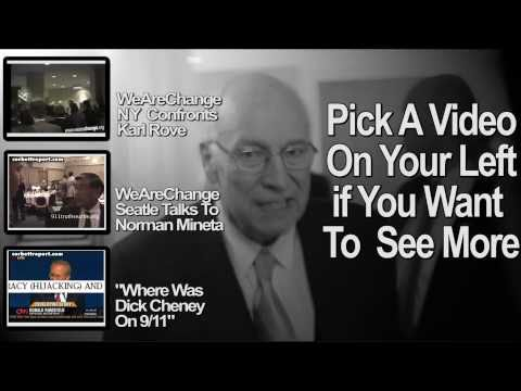 WeAreChange confronts Dick Cheney