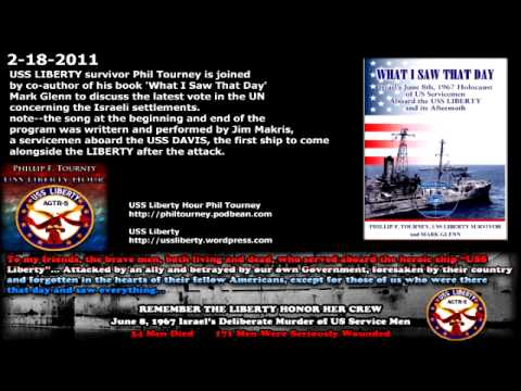 Latest UN vote Concerning Israeli Settlements Mark Glenn with Host Phil Tourney - USS Liberty Hour
