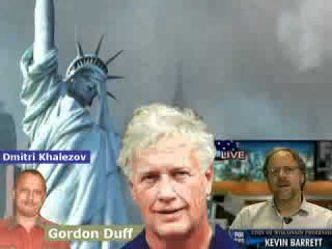 9/11 Truth:  Was Mossad in Charge?  Kevin Barrett, Dimitri Khalezov and Gordon Duff Discuss