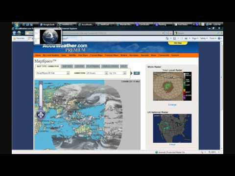 RADIATION / JET STREAM - MEGA STORM forms in the Pacific!  March 17, 2011