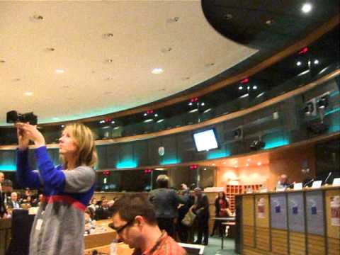 Greeks Invade the European Parliament March 23 2011