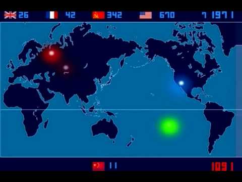 Nuclear Testing 1945 - 1998 Complete Video HD