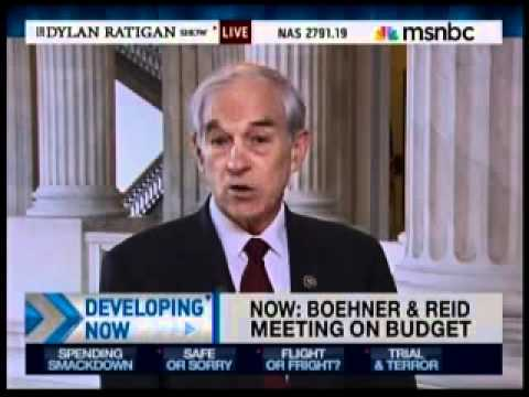 President Paul on Dylan Ratigan April 5 2011