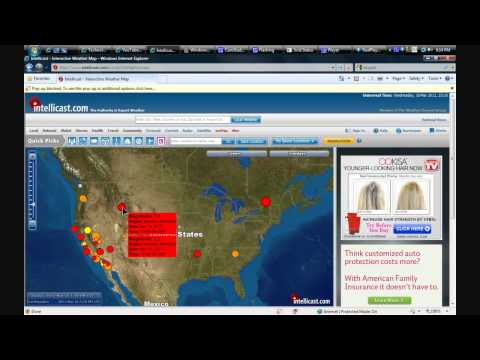 NEW YORK , Quebec, and YELLOWSTONE!  activity today March 16, 2011