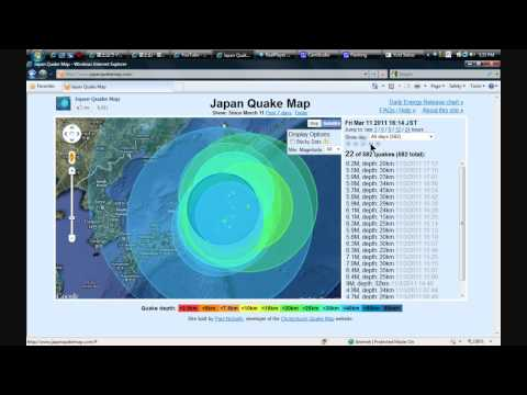 Japan is collapsing?  hypothesis - animation and presentation of the data