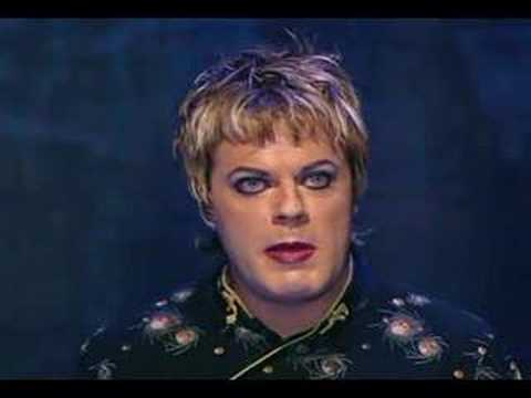 Because sometimes you have to laugh. Eddie Izzard -- Cake or Death?