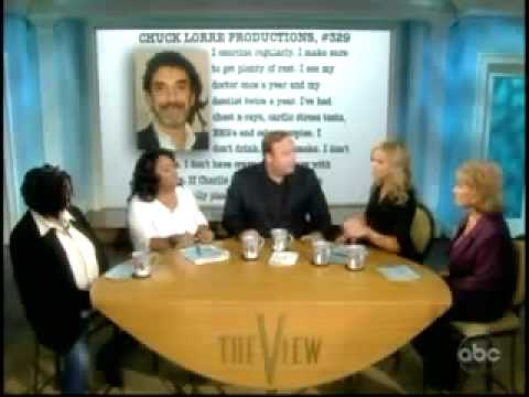 Alex Jones on The View defending Charlie Sheen 2/28/2011