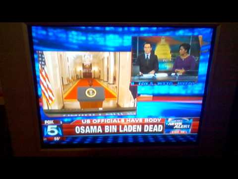 Fox News Fail-'President Obama Is In Fact Dead', Oops, I Meant Osama Bin Laden