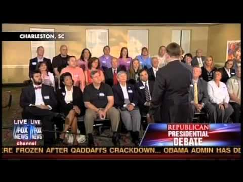 Fox News Mind Control - Republican Debate