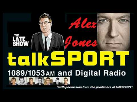 ALEX JONES BLASTS CALLERS ON TALK SPORT RADIO