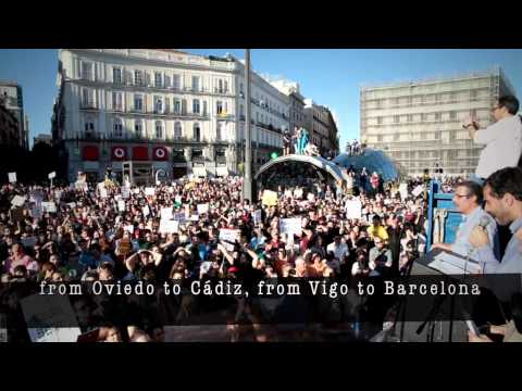 Spain Taken the street for a TRUE DEMOCRACY  - May 15th 2011 -