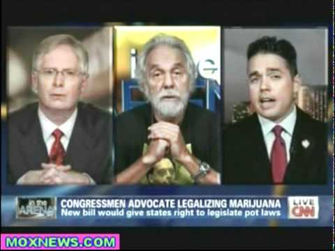 LET'S HEAR SOME MORE LIES! Tommy Chong To Drug War Profiteer Scumbag
