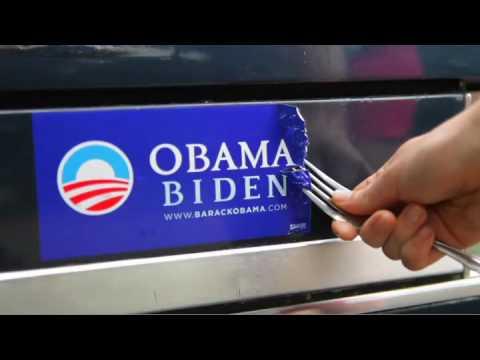 Obama Bumper Sticker Removal Kit