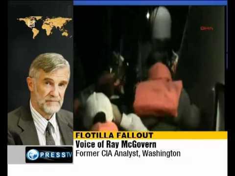 Flotilla Murders - RAY McGovern - Israelis delegitimizing themselves