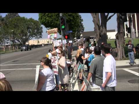 Kelly Thomas Memorial and Protest - July 30, 2011