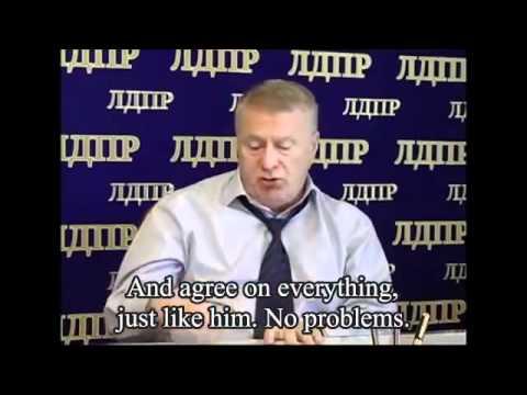 Russian Politician Vladimir Zhirinovsky Threatens Georgia & The World With Scalar Weapons