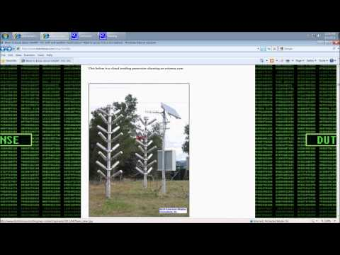8/5/2011 --  Weather manipulation via frequency = Explanation on Scalar Squares and HAARP rings