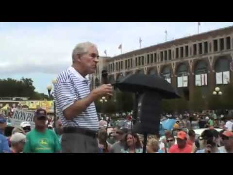 Ron Paul in Iowa: Defend Liberty! Uphold the Constitution!