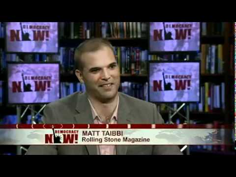 """Matt Taibbi: """"Is the SEC Covering Up Wall Street Crimes?"""" (Democracy Now! Interview)"""