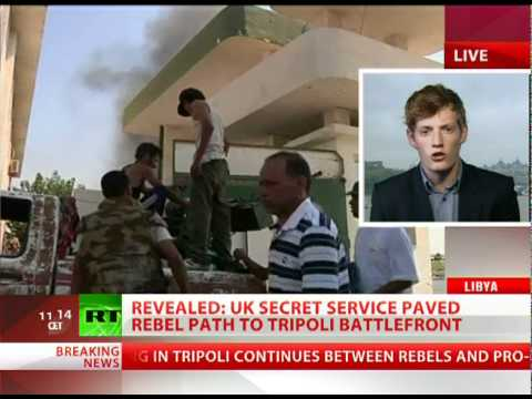 Exposed: MI6 spies paved rebel path to Tripoli battlefront