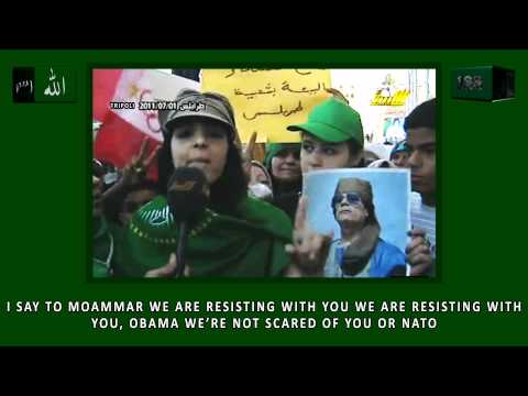 A Libyan girl's message to Obama and Sarkozy
