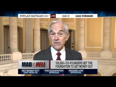 Ron Paul on the Dylan Ratigan Show