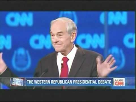 Ron Paul GOP CNN Nevada Debate Responses