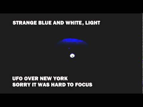 UFO OVER NEW YORK  OCTOBER 9, 2011