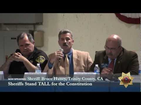 8 Northern California Sheriffs Form Coalition Against Tyranny - Stand TALL for the Constitution and Against Environmental Extremism