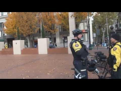 Joe Anybody meets Officer Friendly