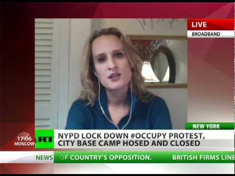 OWS witness: Brutal lockdown in Zuccotti Park to fuel new protests