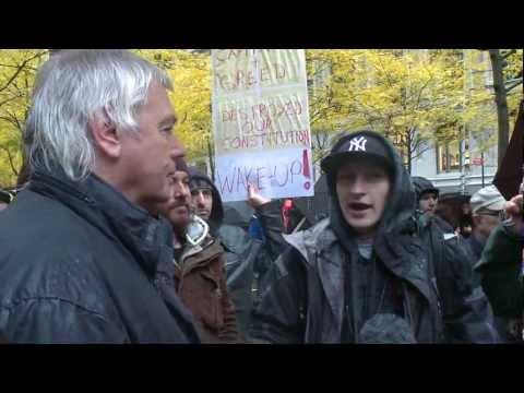 David Icke - Luke Rudkowski at Occupy Wall Street