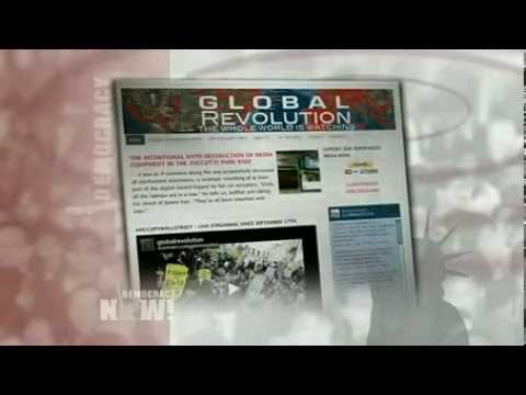 Global Revolution, Occupy Wall Street Live Streaming Source, Evicted From Production Studio