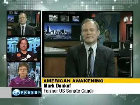 Mark Dankoff, Debra Sweet and Sara Flounders - Occupy Wall Street
